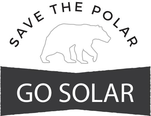 Save the Polar - GO SOLAR badge